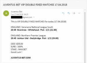 juventus fixed match betting tips quick